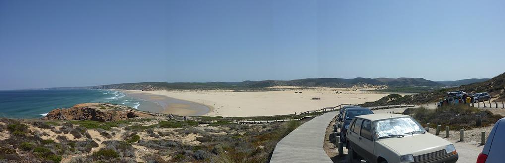 Bordeira mit Panorama