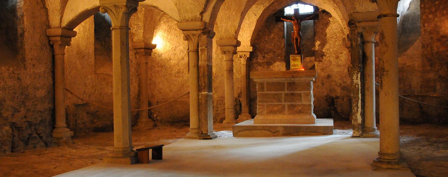 Vezelay Krypta des Templiers