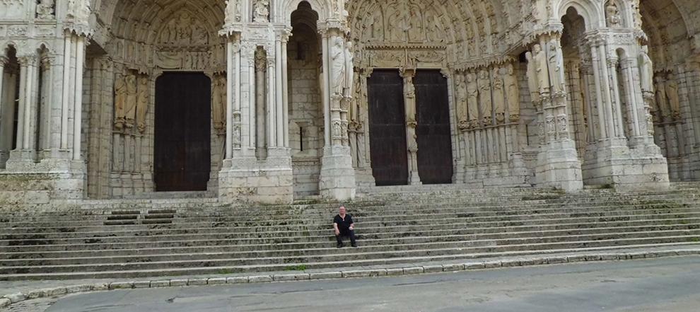 Cathedral Chartres des Templiers avec Le Senechaut