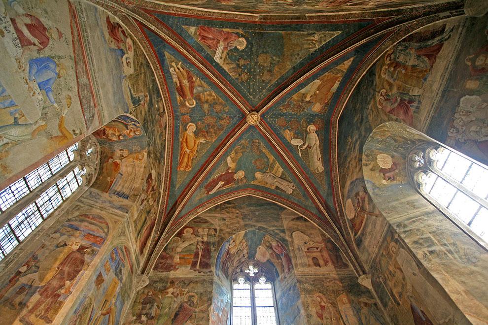 Chapelle Saint Jean im Papstpalast zu Avignon