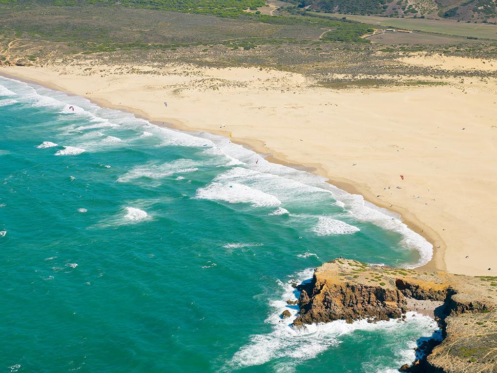 Die Bucht von Praia da Bordeira