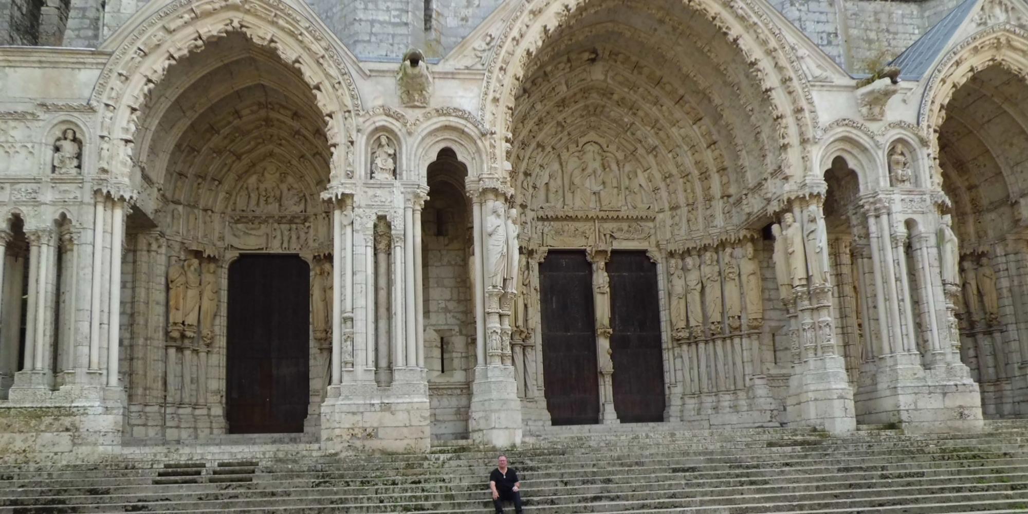 Cathedral Chartres des Templiers avec Sénéchal